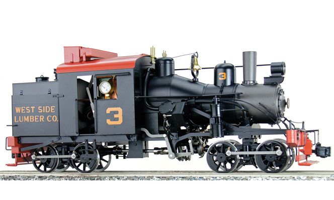 New Arrival<br>WSL #3 Heisler, Live Steam<br>1:20.3 Scale, 45mm Gauge