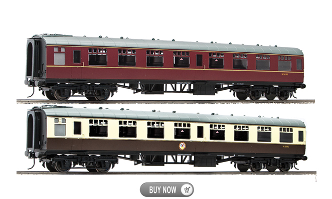 New Arrival<br>MK1 Coaches<br>1:32 Scale, 45mm Gauge