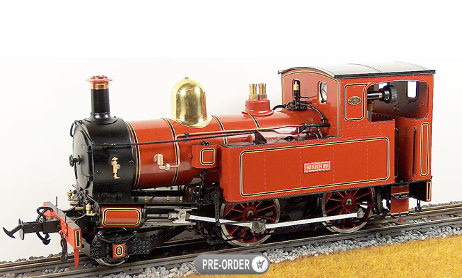 Coming Next Month<br>Mannin Isle of Man 2-4-0T, Live Steam<br>1:20.3 Scale, 45mm Gauge