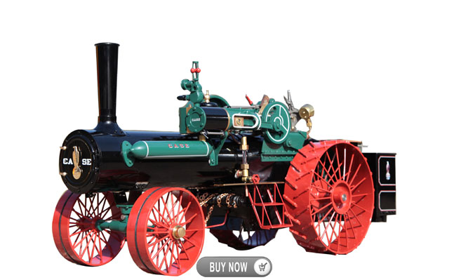 New Arrival<br>Case, Live Steam<br>1:12 Scale
